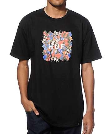 HUF Floral Box Logo T-Shirt