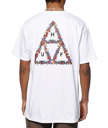 HUF Floral Triple Triangle T-Shirt