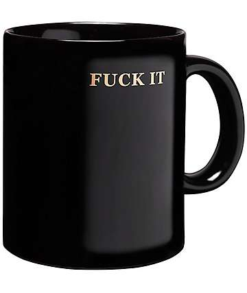 HUF Fuck It Coffee Mug