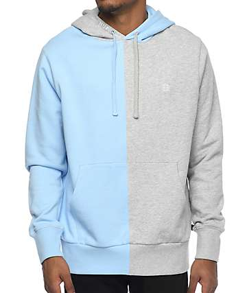 HUF Henry Grey & Blue Hoodie