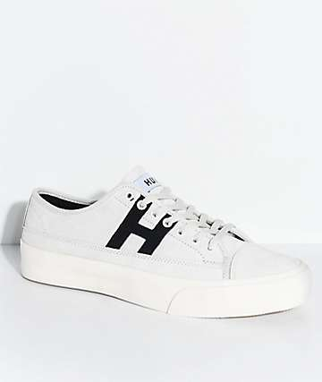 HUF Hupper 2 Lo Cream & Black Skate Shoes