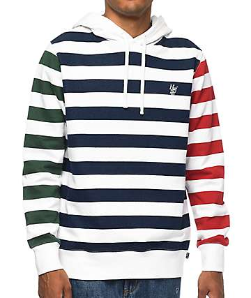 HUF Kennedy Striped Hoodie