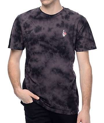 HUF La Vie En Rose Crystal Washed T-Shirt
