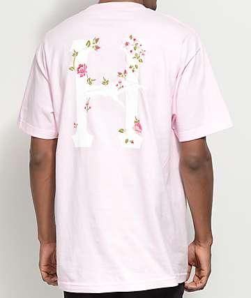 HUF La Vie En Rose Pink T-Shirt