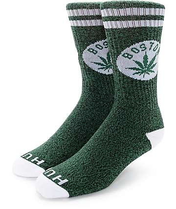 HUF Legalize Boston Crew Socks