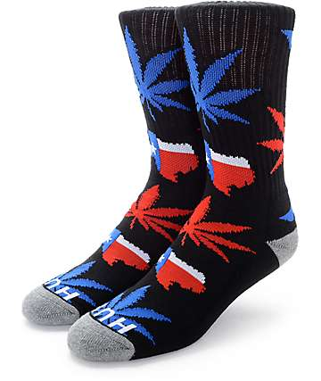 HUF Legalize Texas Crew Socks