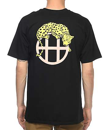 HUF Leopard Black T-Shirt