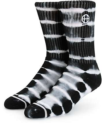 HUF Lightning Stripe Crew Socks