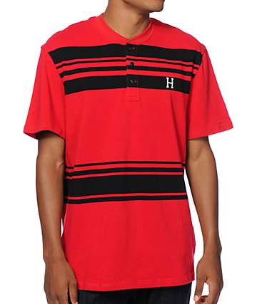 HUF Madison Rugby T-Shirt