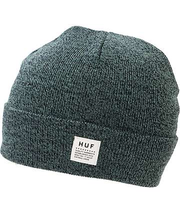 HUF Mixed Yarn Blue Beanie