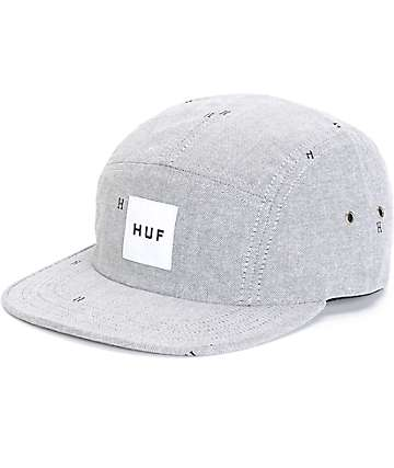 HUF Monogram 5 Panel Hat