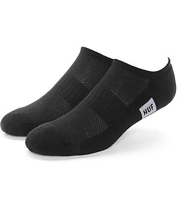 HUF Performance Black Ankle Socks