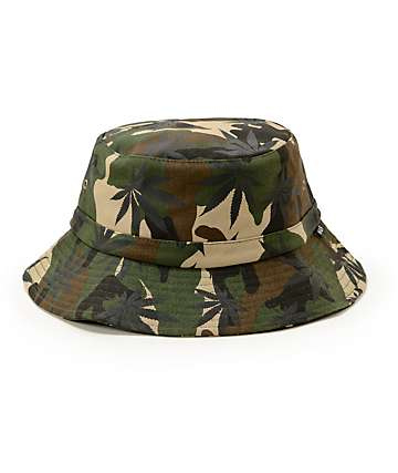 HUF Plantlife Camo Bucket Hat
