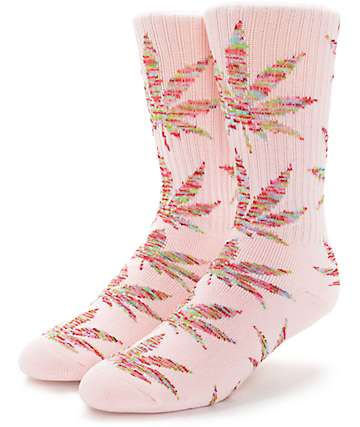 HUF Plantlife Melange Pink & Multi Colored