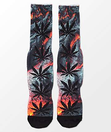 HUF Plantlife Outdoor Lava calcetines