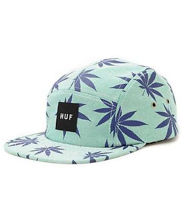 HUF Plantlife Oxford 5 Panel Hat