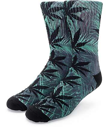 HUF Plantlife Palms Crew Socks