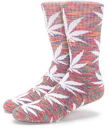 HUF Plantlife Streaky Rainbow Crew Socks