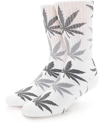 HUF Plantlife White Crew Socks
