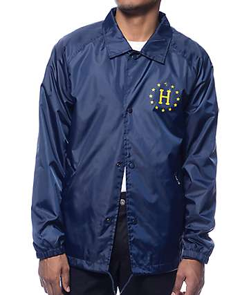 HUF Recruit Navy Coach Jacket