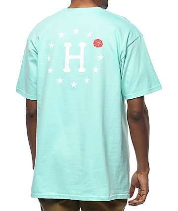HUF Rose 12 Galaxy Celadon T-Shirt