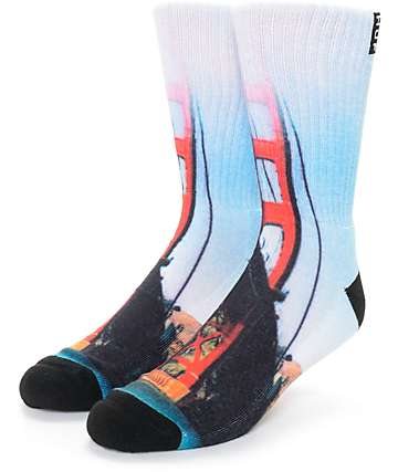 HUF San Francisco City Crew Socks