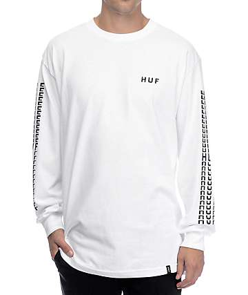 HUF Sante White Long Sleeve T-Shirt