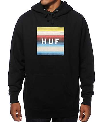 HUF Serape Box Logo Hoodie