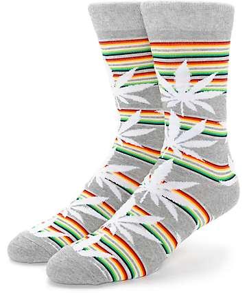 HUF Serape Plantlife Crew Socks