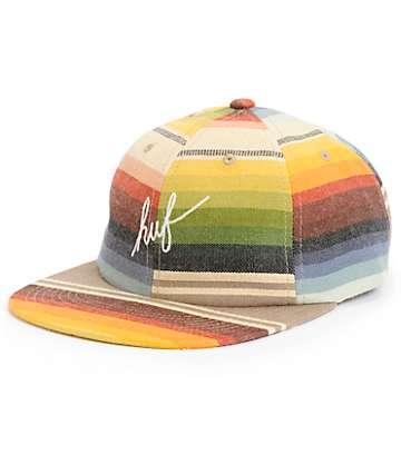 HUF Serape Script Strapback Hat