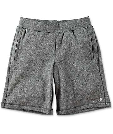 HUF Shadow Fleece Grey Sweat Shorts