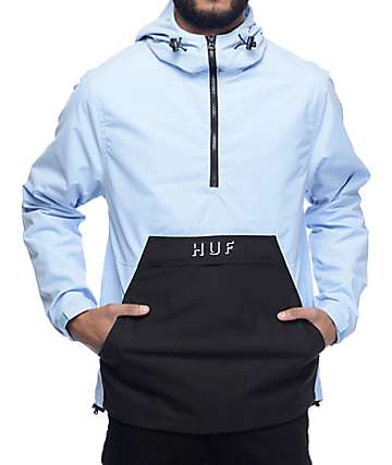 HUF Shadow Powder Blue Anorak Jacket