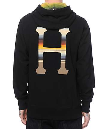 HUF Snap Fleece Jacket