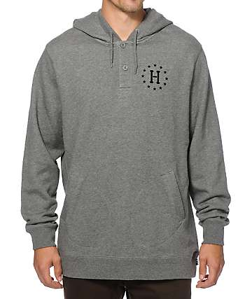 HUF Spearhead Henley Hoodie