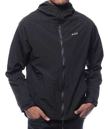 HUF Standard Shell Black Jacket