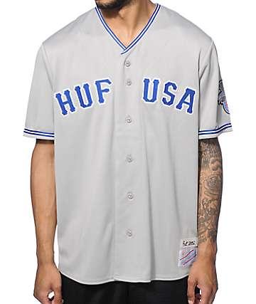 HUF Territory Baseball Jersey