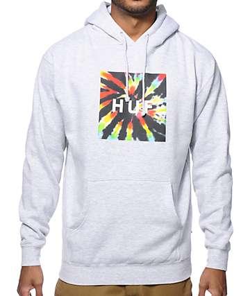 HUF Tie Dye Box Logo Hoodie