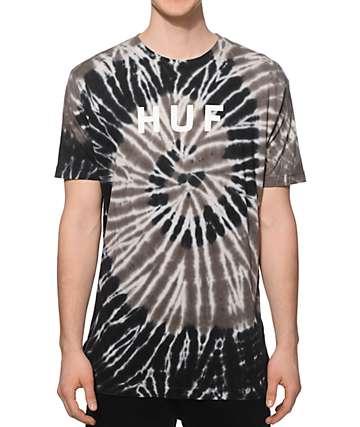 HUF Tie Dye OG Logo T-Shirt