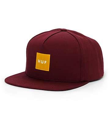 HUF Tonal Box Logo Snapback Hat