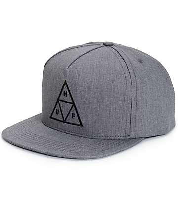 HUF Triangle Logo Snapback Hat