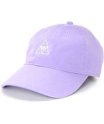 HUF Triple Eye Lavender Polo Strapback Hat