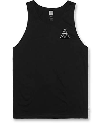 HUF Triple Triangle Black Tank Top