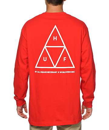 HUF Triple Triangle Long Sleeve T-Shirt