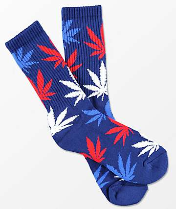 HUF USA Plantlife Crew Socks