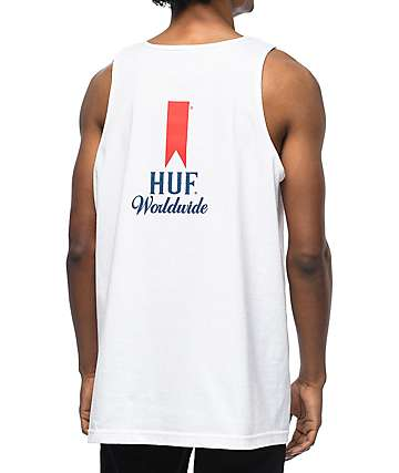 HUF Ultra White Tank Top