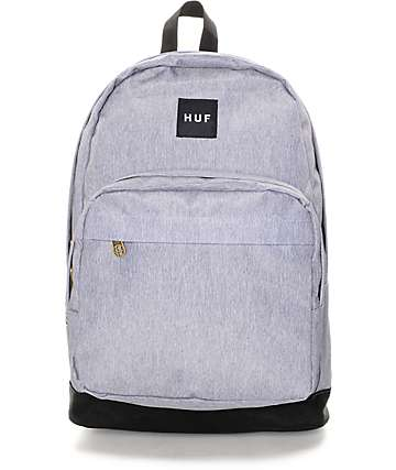 HUF Utility Heather Grey Backpack