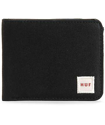 HUF Waxed Canvas Bifold Wallet