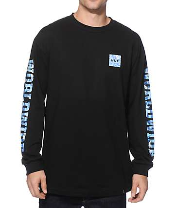 HUF Worldwide Tie Dye Long Sleeve T-Shirt