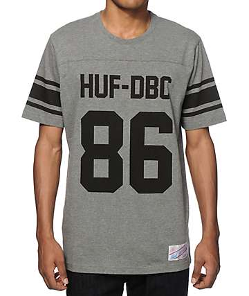 HUF Wrecking Crew Football Jersey T-Shirt
