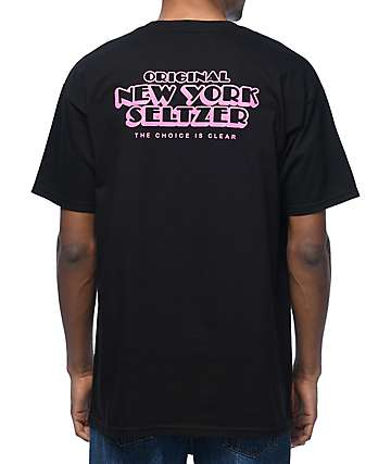 HUF X Original New York Seltzer Black T-Shirt